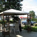 Table patio pour manger dehors