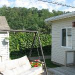Terrasse pour s'assoir dehors