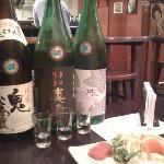 Our fantastic Sake Bar experience