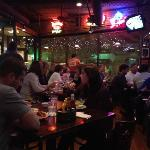 gear comfort food and bar sports atmosphere. no one is a stranger here. expect to wait but they