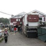 Shaw's Fish & Lobster Wharf, New Harbor, Maine