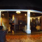 The Piano Bar at night