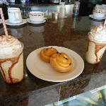 Iced Capps at Coco cafe