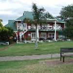 Lodge from the golf course
