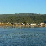 View of Inn and RV Park from the pier