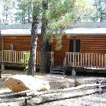 row rooms in cabin area