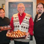 Friendly cafe staff from local First Nations: Squamish Nation & Lil'wat Nation