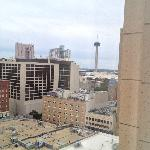 View from the 14th floor of The Tower of the Americas