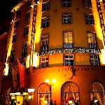 Grand Bohemia Hotel at night
