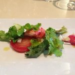 lobster and beet salad