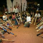 Free didgeridoo introductory workshops Monday to Friday