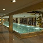 65 ft indoor heated lap pool