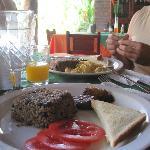Desayuno incluído en la estadía