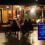 Kafe Lantera at night
