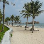 the beach at Ana Mandara Hue