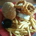 Ultimate jack daniel burger