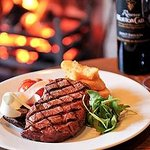 fireside steak and chIps HORSESHOES STYLE