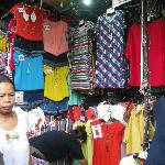 Fashion stall around Big C