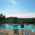 Piscina y San Gimignano