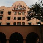 The Pink Palace in sunny Waikiki.