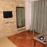 tv and nice decor