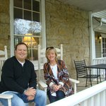Front porch of Cider Mill B&B