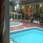 the pool and solarium