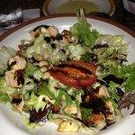 salmon entree salad
