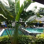 la piscina vicino alla mia camera