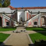 courtyard near entrance