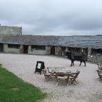 The craft centre at Buckland