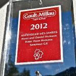 Gault Millau Auszeichnung für die Küche