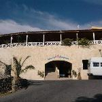 hotel frontage & shuttle bus