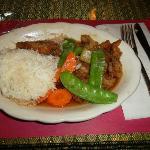 Tamarind Duck dinner