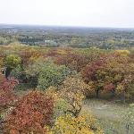 view from the tower