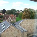 View from Magadelene room