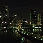 Miami night skyline from my balcony