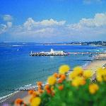 The closest caravan holiday homes to Bournemouth beach
