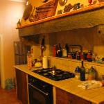 Their little kitchen....