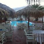Pool area & dining area