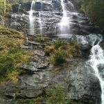 The view from the base of the falls...after 175 stairs