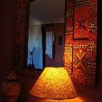 Inside the room