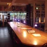 The communal table, the biggest table in Sligo