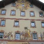 A building in Mittenwald