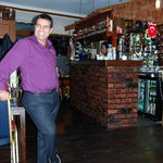 Halil your host and the owner of Antep.