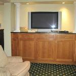 Flat Screen TV in Lobby