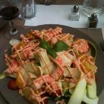salade cocktail ...excellente