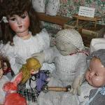 Prarie dolls and others - some over 100 years old.