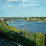 Du 6e étage, vue sur la rivière Penobscot