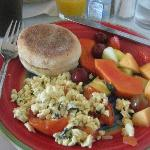 Nice breakfast included in rate